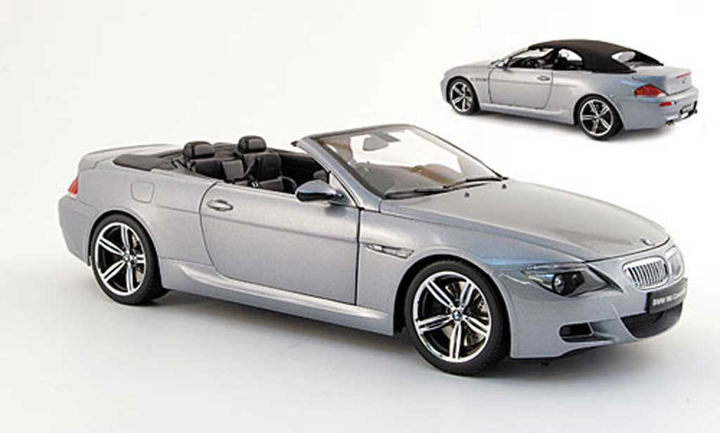 Bmw M6 E64 1/18 Kyosho grey 2005 diecast model cars