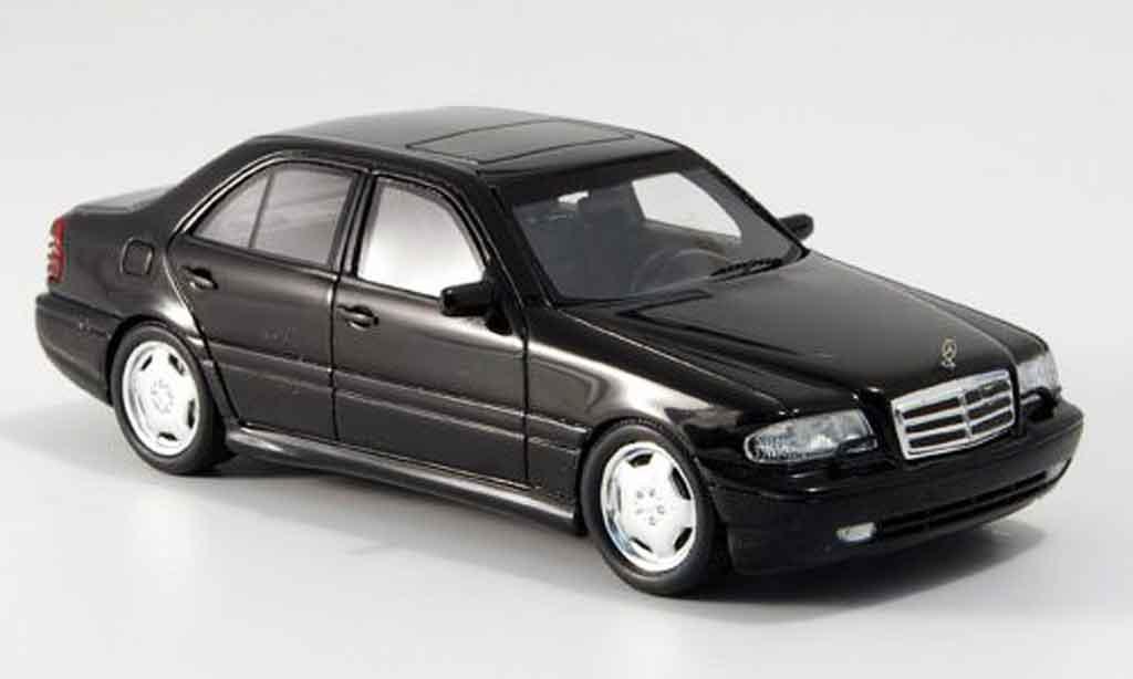Mercedes Classe C 1/43 Spark C43 AMG negro 2000 miniatura