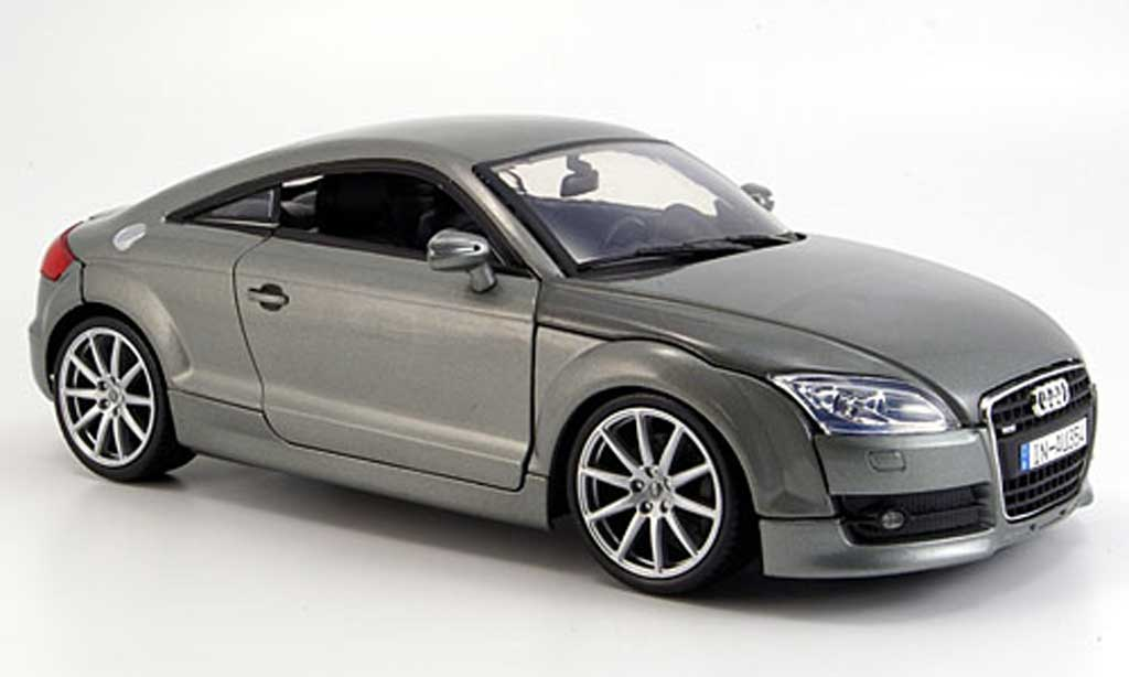 Audi TT coupe 1/18 Motormax gray 2007 diecast