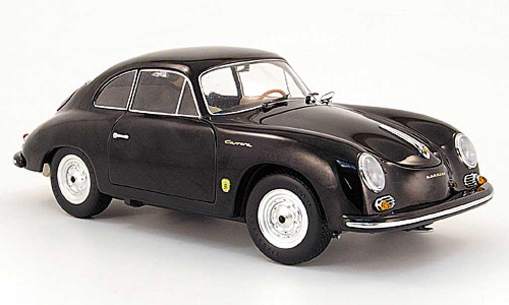 Porsche 356 1955 1/18 Schuco A coupe schwarz modellautos