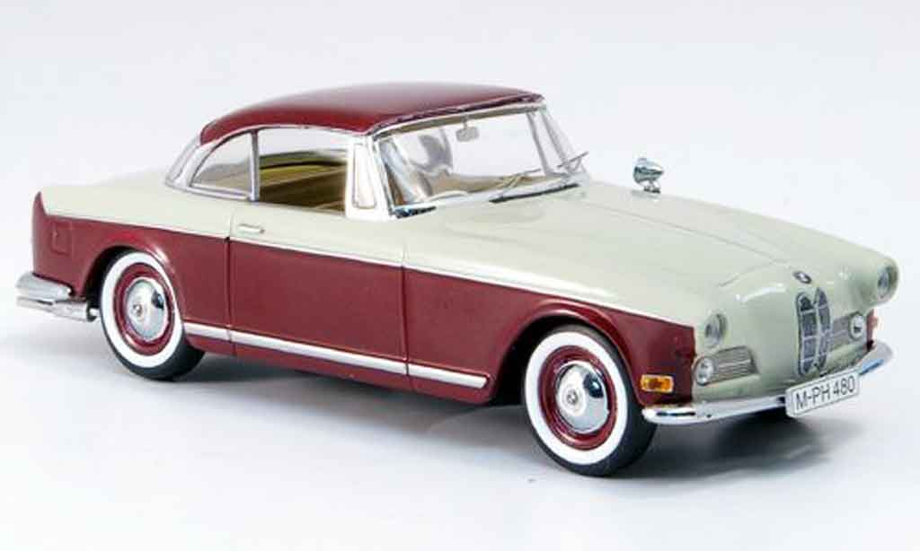 Bmw 503 1/43 Schuco Coupe rouge grise miniature