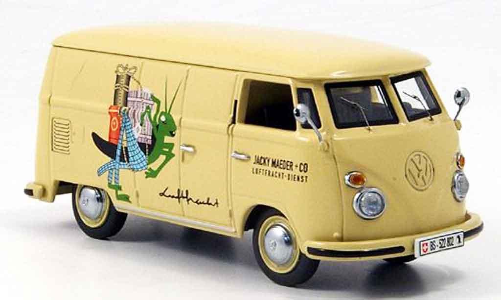 Volkswagen Combi 1/43 Schuco t 1 kasten jacky maeder luftfracht reduziert