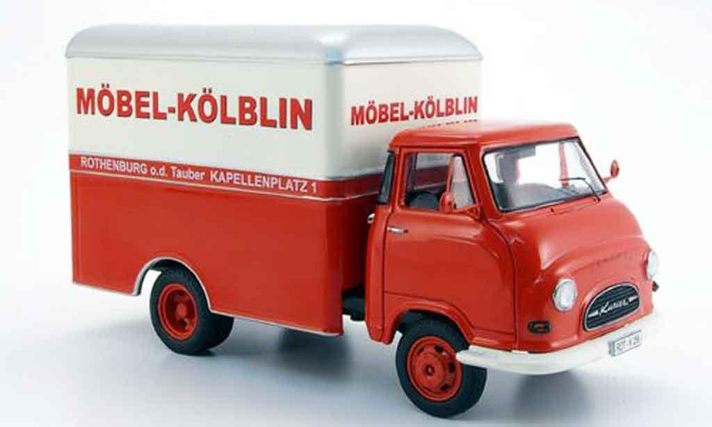 Hanomag Kurier 1/43 Schuco Mobel Kolblin Kastenwagen miniature