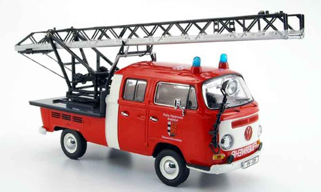 Volkswagen Combi 1/43 Schuco t2a freiw. pompier brachttal neuenschmidten miniature