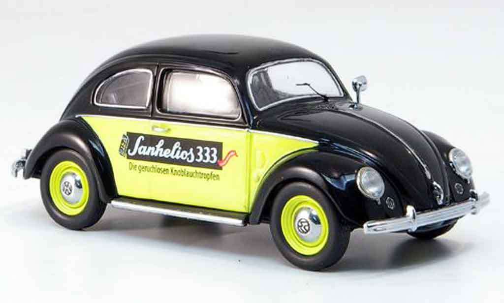 Volkswagen Coccinelle 1/43 Schuco brezelsanhelios 333 miniature