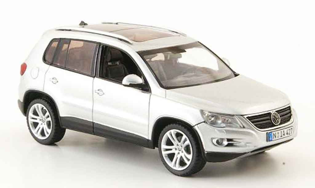 Volkswagen Tiguan 1/43 Schuco grise metallisee miniature