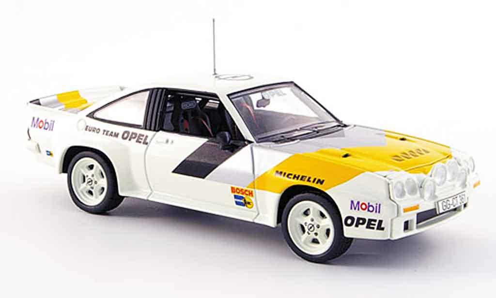Opel Manta B 1/43 Schuco 400 werksfarben miniature
