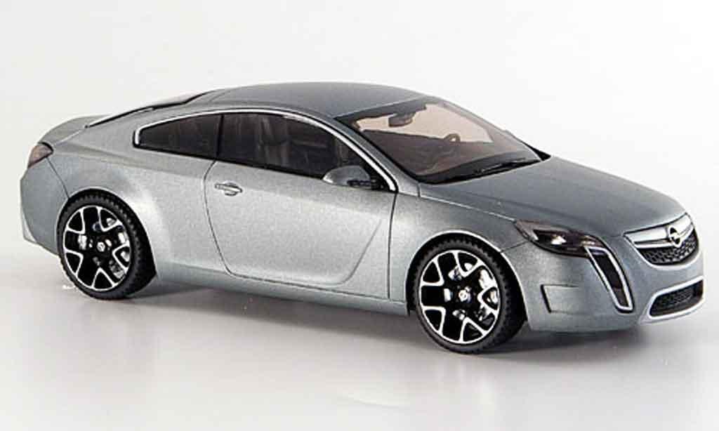 Opel GTC 1/43 Schuco concept bleu miniature