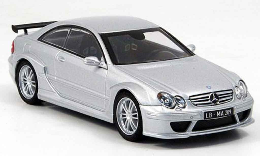 Mercedes Classe CLK DTM 1/43 Kyosho AMG Coupe gray metallisee diecast