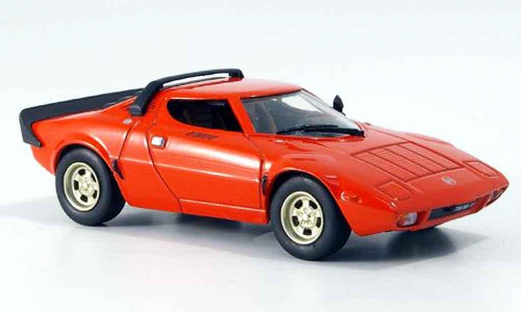 Lancia Stratos HF 1/43 Norev hf stradale rouge 1973 miniature