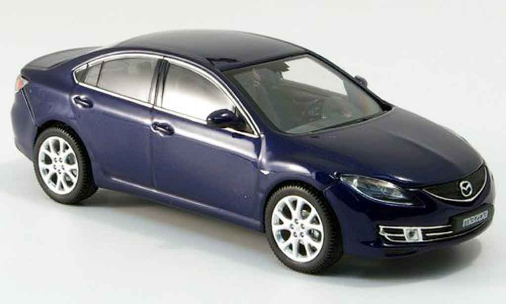 Mazda 6 1/43 Norev 6 Limousine bleu 2007 miniature