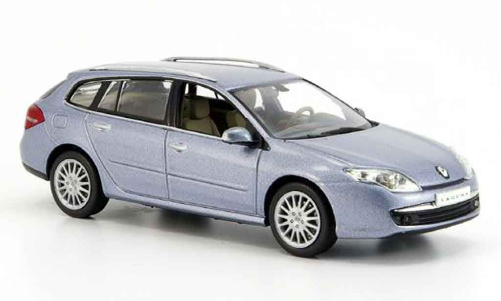 Renault Laguna 1/43 Norev estate grise metalliseebleu 2007 miniature