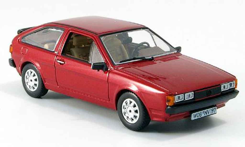 Volkswagen Scirocco 1/43 Norev scirocco ii gt rouge 1980 miniature