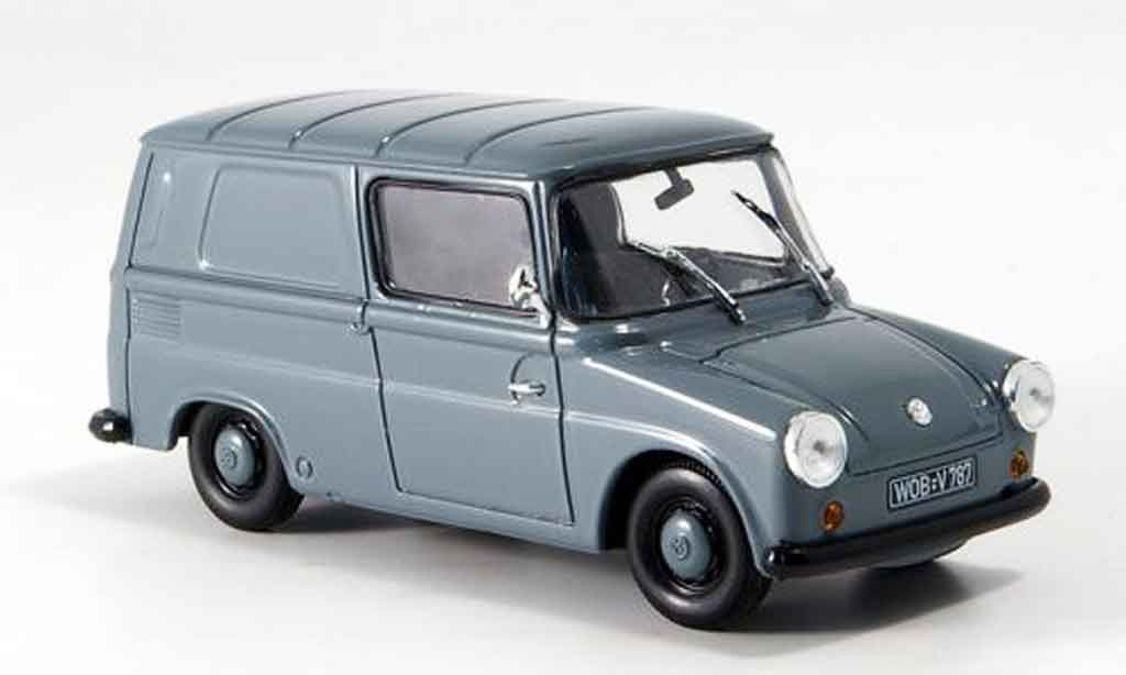 Volkswagen Combi 1/43 Norev typ 147 fridolin grau 1965 modellautos