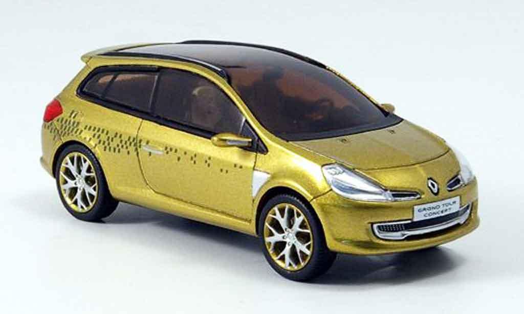 Renault Clio 1/43 Provence Moulage grand tour concept or autosalon genf 2007 miniature