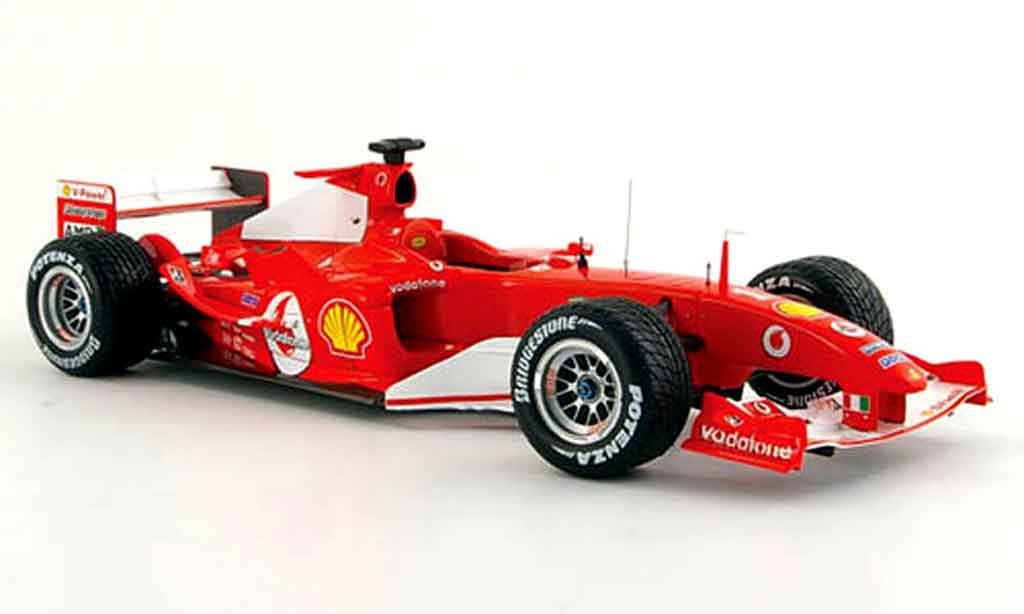 Ferrari F1 F2004 1/18 Hot Wheels Elite m. schumacher no.2 gp belgien diecast model cars
