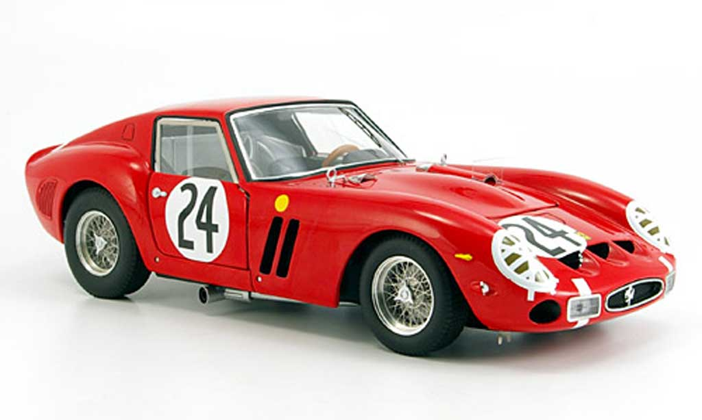 Ferrari 250 GTO 1/18 Hot Wheels Elite no.24 elite racing miniature