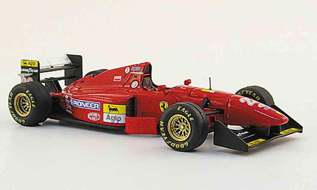 Ferrari 412 1/43 Hot Wheels Elite t 1b no.28 g.berger sieger hockenheim 1994 miniature