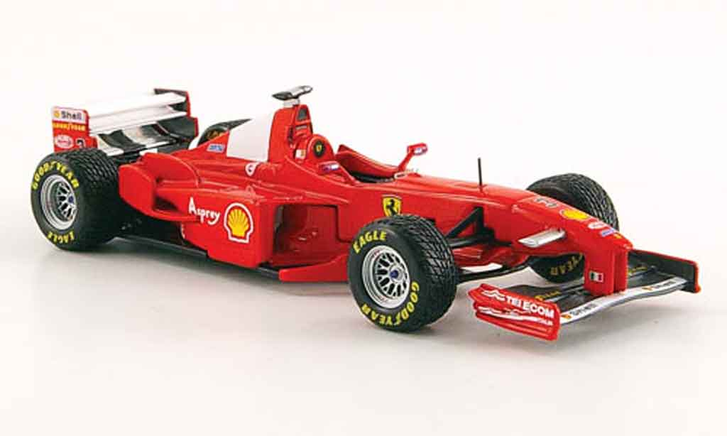 Ferrari F1 1/43 Hot Wheels Elite f300 no.3 m.schumacher gp graustone 1998