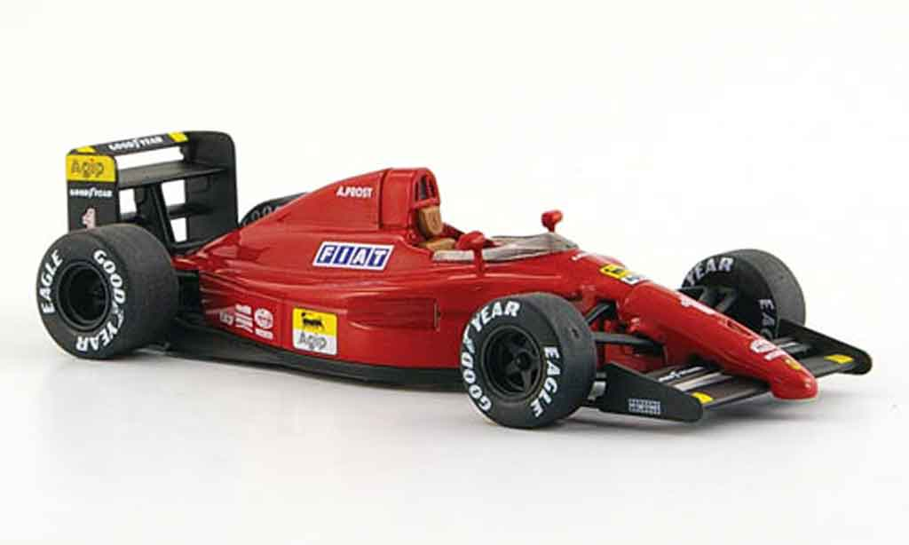 Ferrari F1 1/43 Hot Wheels Elite f 641 no.1 a.prost sieger gp frankreich 1990 miniature