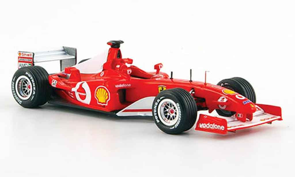 Ferrari F1 F2002 1/43 Hot Wheels Elite no.3 m. schumacher sieger gp kanada 2002 miniature