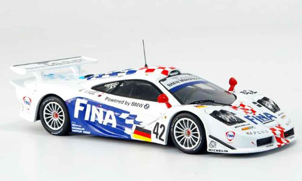 McLaren F1 1/43 IXO GTR No.42 FINA Le Mans 1997 miniature