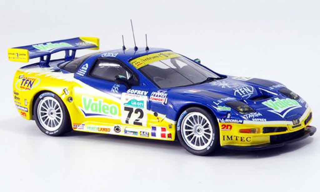 Chevrolet Corvette C6 1/43 IXO R No.72 Valeo Le Mans 2006 diecast