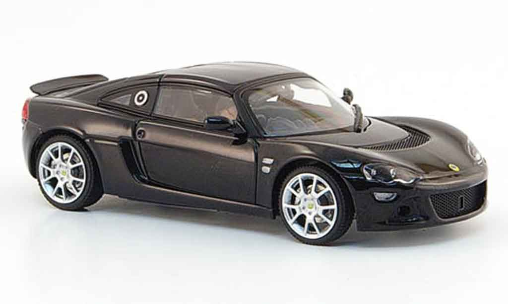 Lotus Europa 1/43 Autoart s black diecast model cars