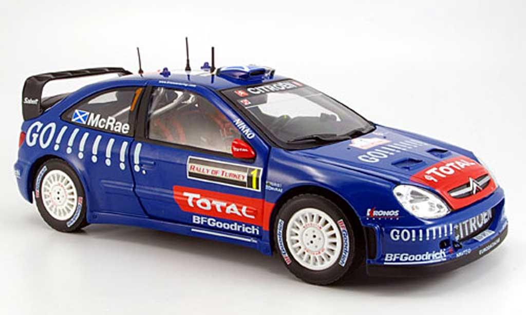 Citroen Xsara WRC 2006 1/18 Sun Star mcrae/griset sieger rallye turquie miniature
