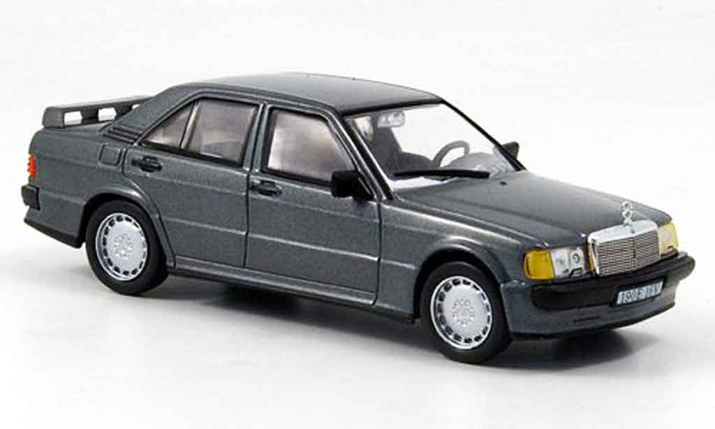 Mercedes 190 E 1/43 WhiteBox (W201) 2.3 16V anthrazit 1984 miniature