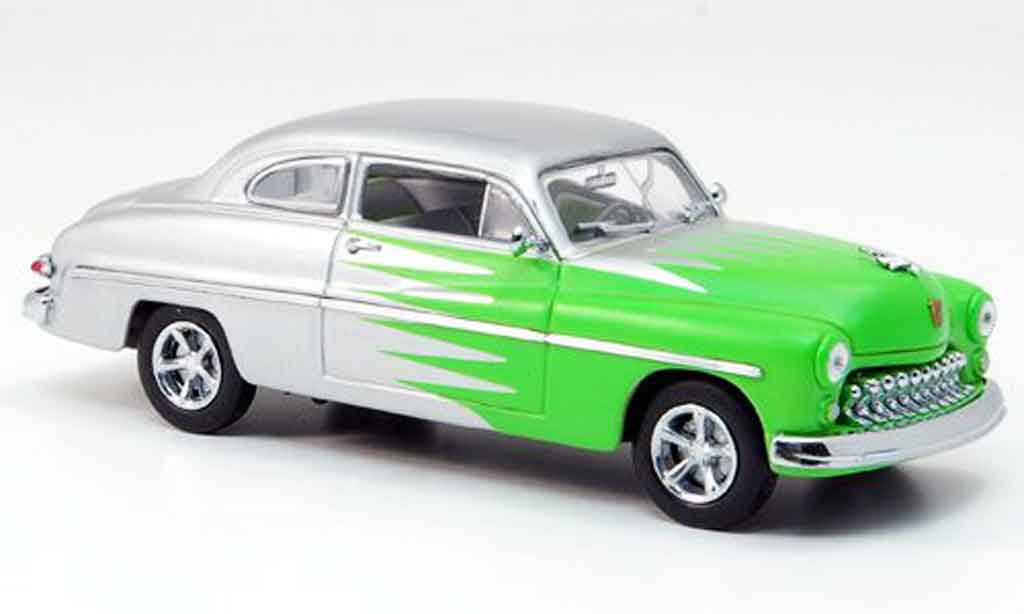 Mercury Club Coupe 1/43 Eagle Hot Rod grise avec verte 1949 miniature