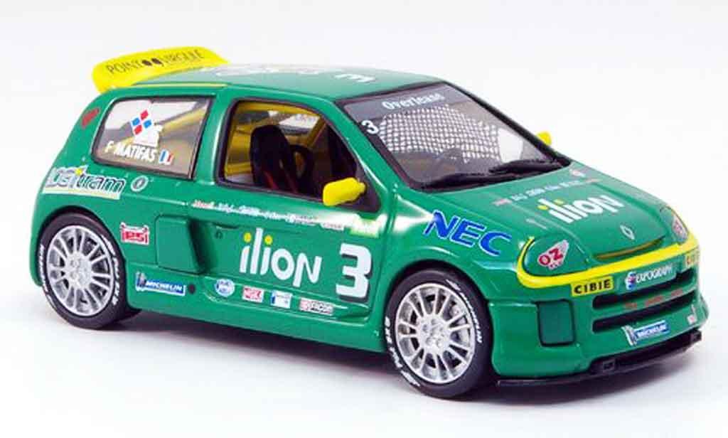 Renault Clio V6 1/43 Eagle 24v no.3 illion clio trophy 1999 miniature