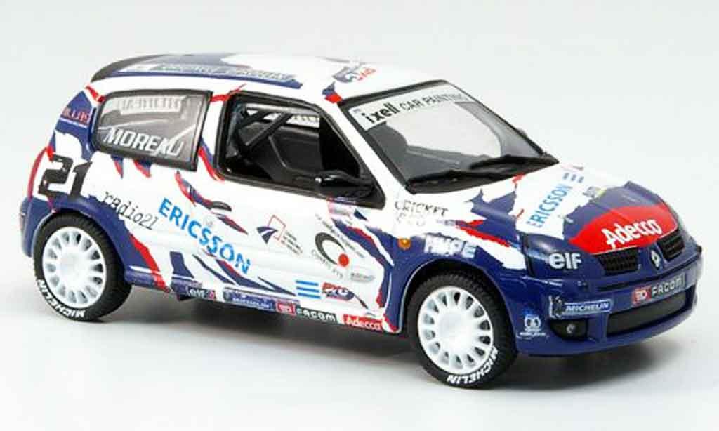 Renault Clio Cup 1/43 Eagle sport no.21 ericsson 2001 miniature