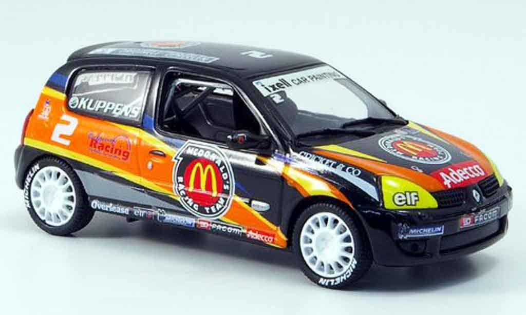Renault Clio Cup 1/43 Eagle sport no.2 mcdonald 2001 miniature