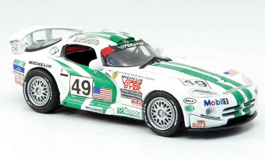 Dodge Viper GTS R 1/43 Eagle No.49 24h Le Mans 1996 miniature