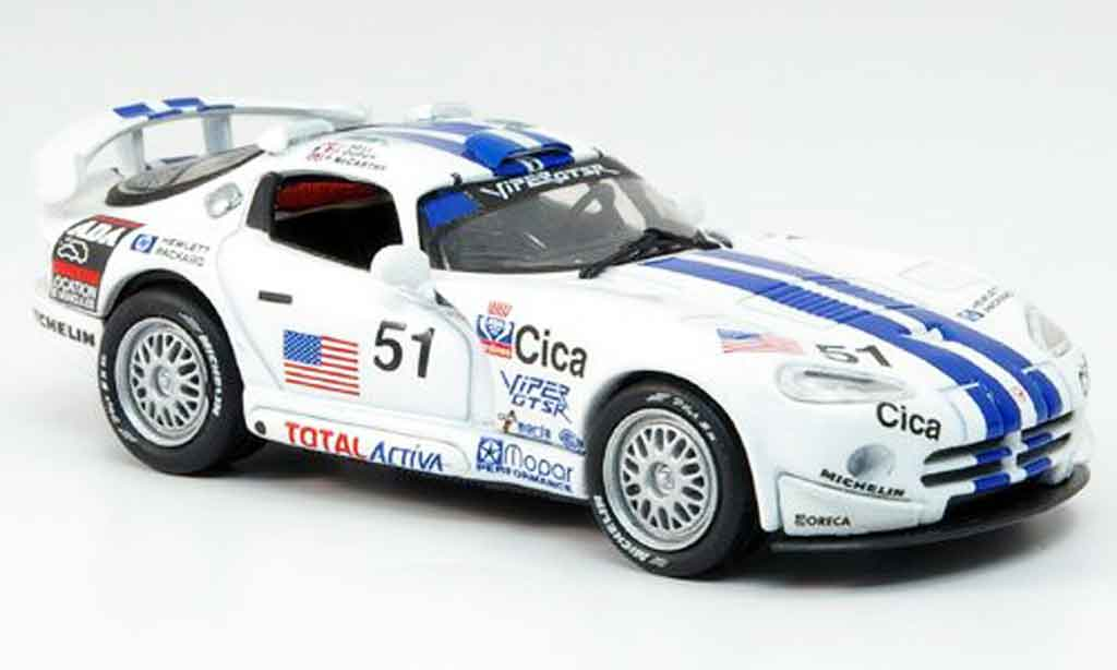 Dodge Viper GTS R 1/43 Eagle No.51 24h Le Mans 1996 miniature