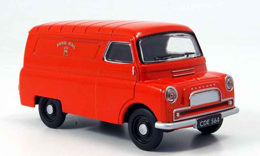 Bedford CA 1/43 Oxford Van rouge Royal Mail Kasten miniature