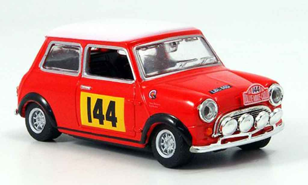 Austin Mini Rallye 1/43 Oxford No.144 Rallye Monte Carlo 1967 miniature