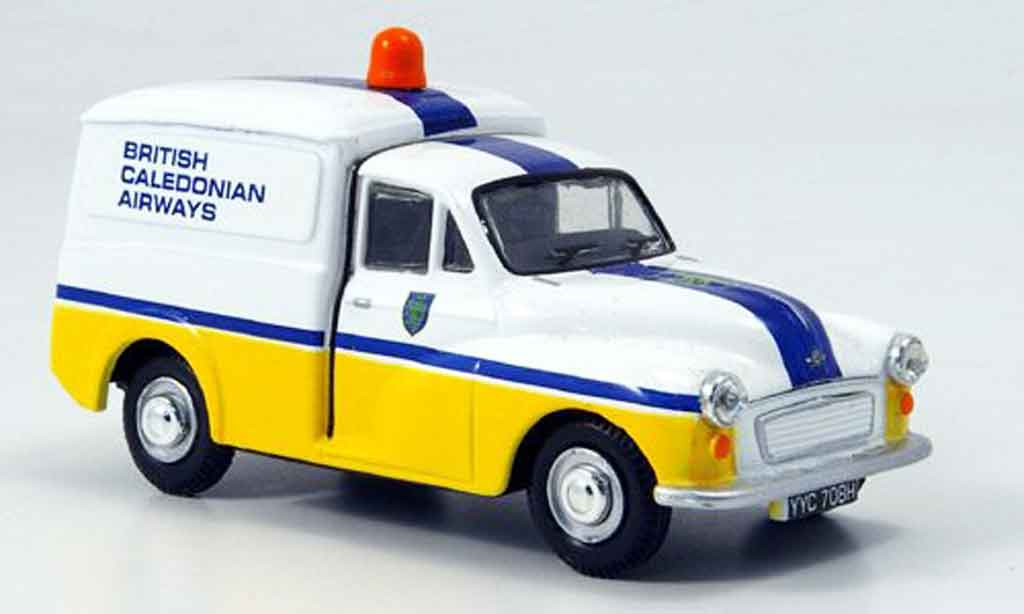 Morris Minor 1/43 Oxford Van Kastenwagen British Caledonian Airways miniature