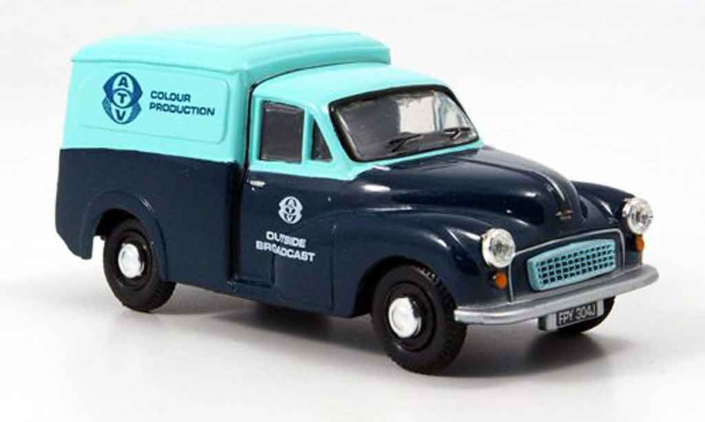 Morris Minor 1/43 Oxford Van bleu turkis Kasten ATV miniature