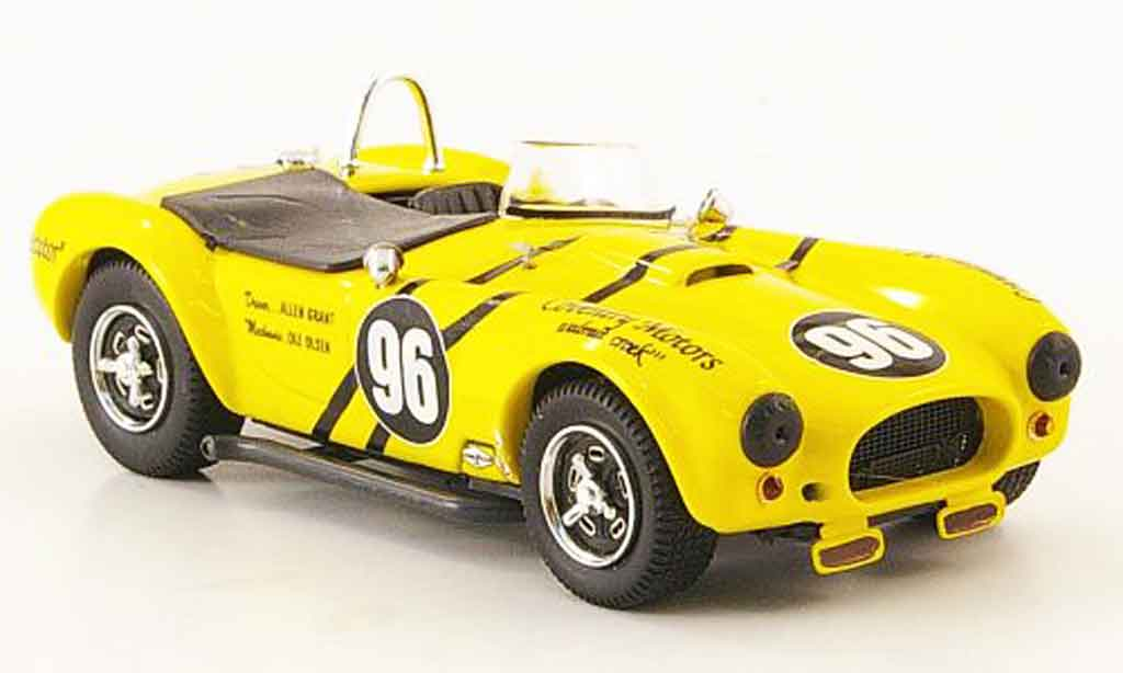 Shelby Ac Cobra 1/43 Bang No.96 Allen Grant Riverside 1963 miniature
