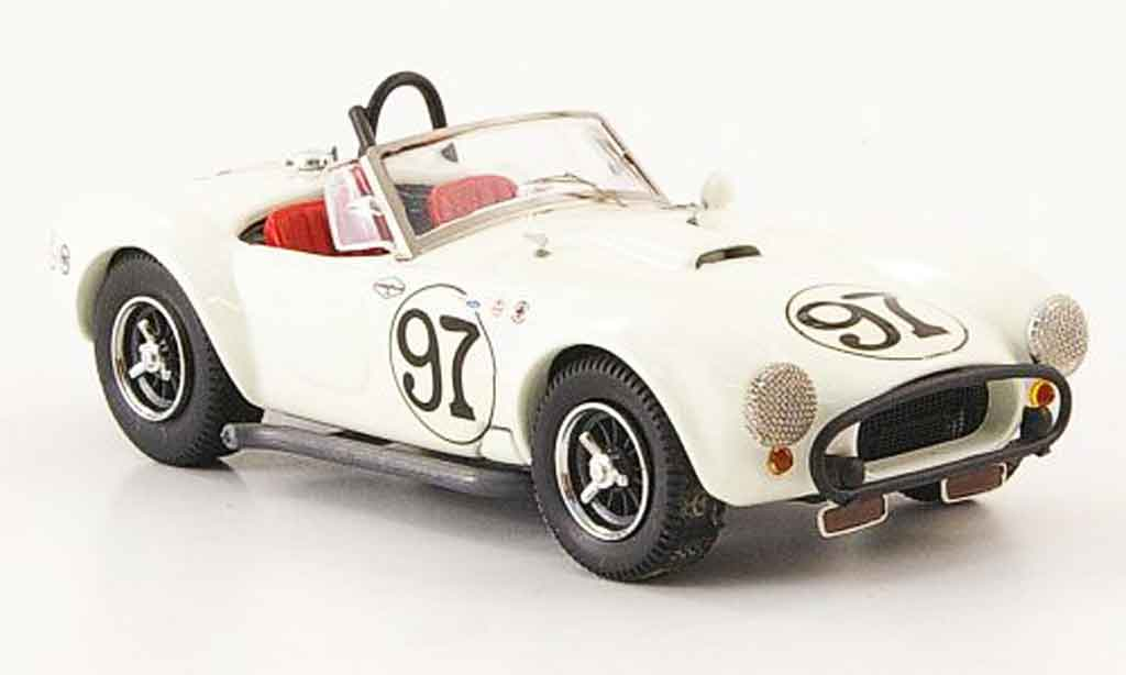 Shelby Ac Cobra 1/43 Bang No.97 Skip Hudson Daytona 1963 miniature
