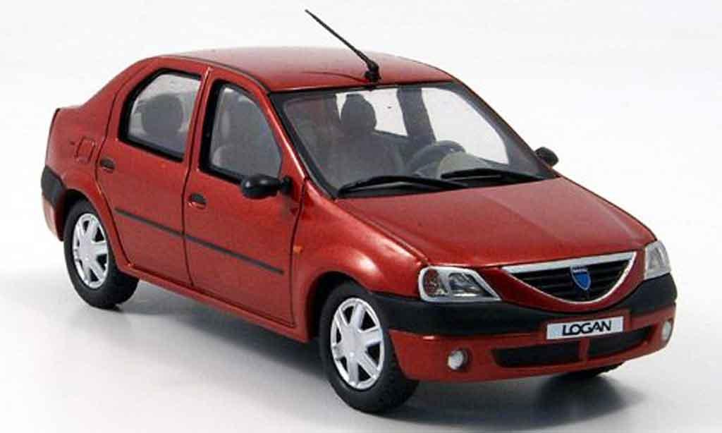 Dacia Logan 1/43 Eligor rouge miniature