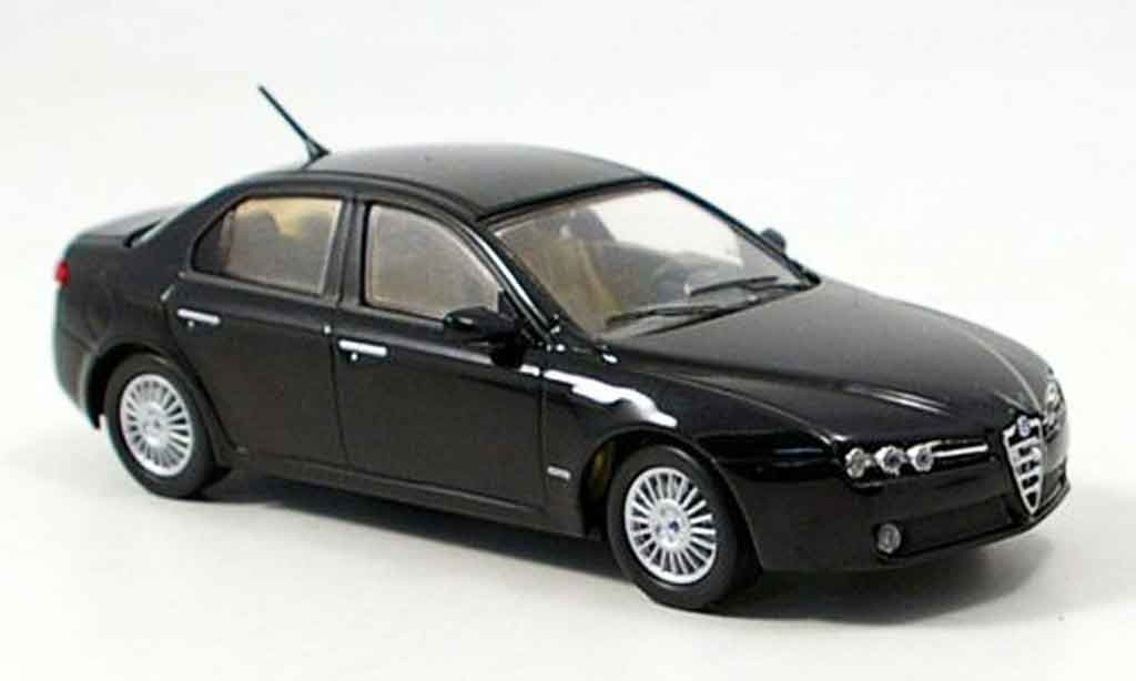 Alfa Romeo 159 1/43 M4 black b quality 2005 diecast