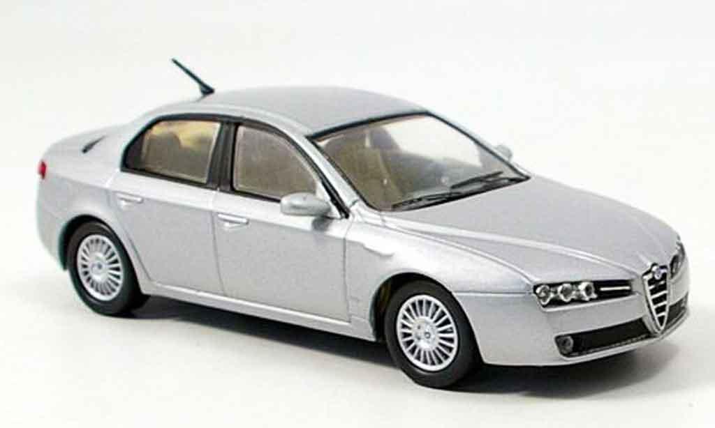 Alfa Romeo 159 1/43 M4 gray metallisee b quality 2005 diecast
