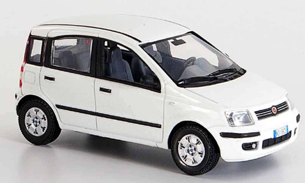 Fiat Panda 1/43 Norev New blanche 2003 miniature
