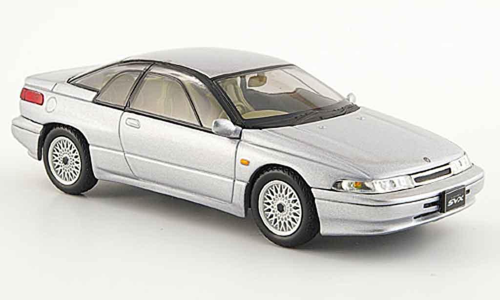 Subaru Alcyone 1/43 Norev svx grise metallisee 1991