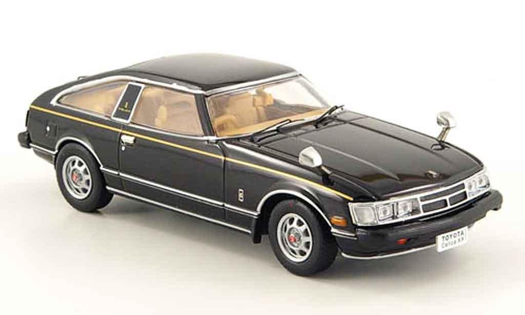 Toyota Celica 1/43 Norev black 1978 diecast model cars