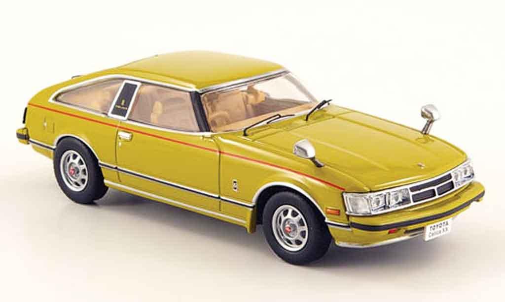 Toyota Celica 1/43 Norev yellow 1978 diecast