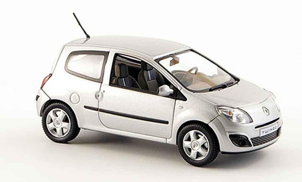 Renault Twingo 1/43 Norev grise 2007 miniature